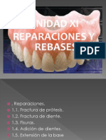 Reparaciones y Rebases