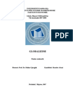 Punim Seminarik - Biznes Nderkombetar - GLOBALIZIMI