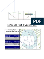 Manual Cut Evaluation