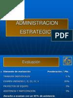 Tema I Administración Estrategica