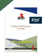 Certified CSS Designer