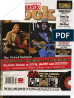 Guitar World Acoustic Rolling Stones, Green Day, Pink Floyd, Bob Dylan, Nirvana - SHEET Music