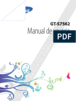 Manual español Samsung Galaxy Duos GT-S7562