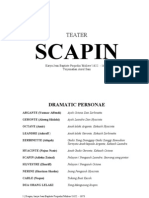 Scapin, Karya Moliere - Skrip Peta 2013
