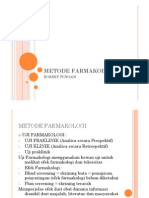 METODE FARMAKOLOGI
