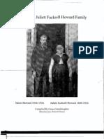 James and Juliett Fackrell Howard Family
