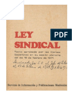 Ley Sindical (1971)