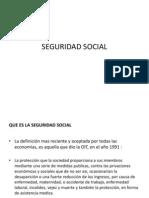 Seguridad Social. (4)