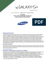 Samsung Galaxy S4 SGH-M919 English User Manual