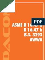 Catalogo de Bridas AWWA DACOM