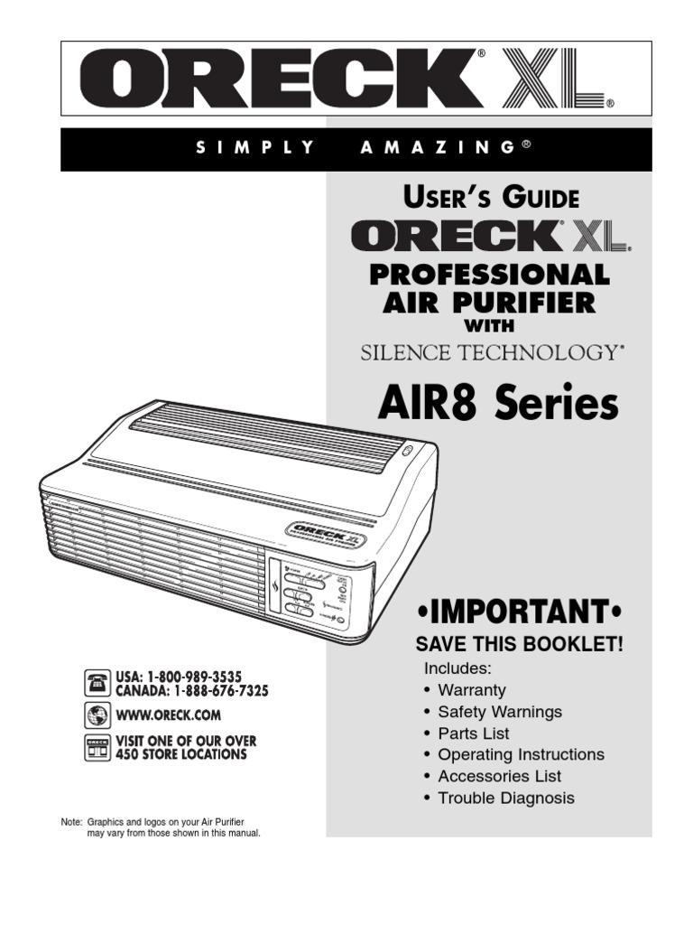oreck xl professional air purifier w silence technology manual ac rh es scribd com oreck xl professional air purifier user manual oreck xl professional air purifier manual pdf