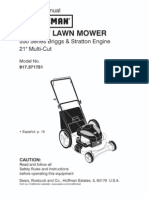 Craftsman Rotary Lawn Mower Manual