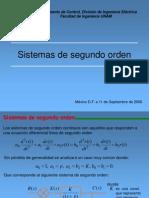 Sistemas de Segundo Orden CONTROL I