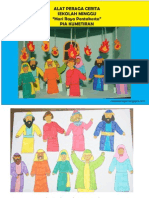 Alat Peraga Sekolah Minggu Cerita Pentakosta