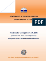 Disaster Management Act Final Draft