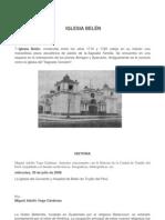 Iglesia Belen
