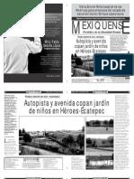 Versión impresa del periódico El mexiquense 15 mayo 2013