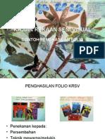 Penghasilan Folio Pendidikan Seni Visual SPM