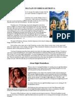 Shri Mataji on Shri Kartikeya SAHAJA YOGA