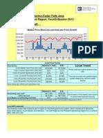 Local Market Reports 2012 q4 IACedarFalls