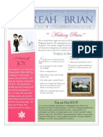 Save the Date Newsletter