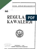 Regulamin kawalerji (1922)