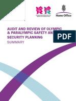 Audit Olympic Security Nov10