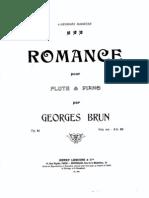 Brun Romance Piano Part