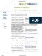 Cognitive Neuroscience Essay.pdf