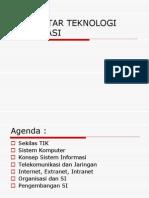 Pengantar Teknologi Informasi