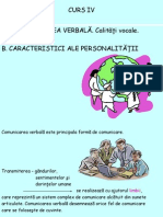 Curs IV Comunicare