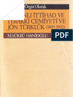 Şükrü Hanioğlu - Bir Siyasi Örgüt Olarak Osmanlı İttihad ve Terakki Cemiyeti ve Jön Türklük (1889-1902)