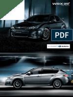 Australian Subaru Wrx sti Brochure