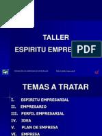 Presentacion Emprenderismo y Espiritu Empresarial1