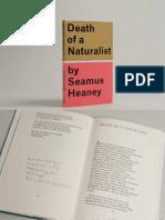 Seamus Heaney - Death of a Naturalist