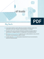 Variation of Trusts