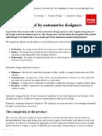 Automotive designing 2