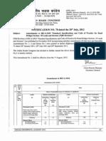Amendments to IRC 6-2010