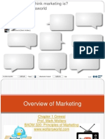 01 BADM 320 Overview of Marketing