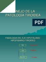 Manejo de La Patologia Tiroidea