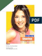 Biography Sherina Munaf