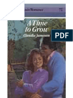 109259230 Jameson Claudia a Time to Grow