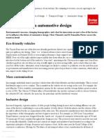 Automotive designing 3