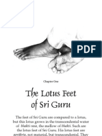 Lotus Feet of Sri Guru