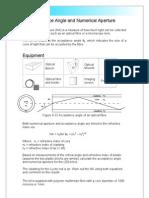 FIbre optic basic parameters
