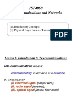 IST4060 Telecommunications and Networks - Lesson 1.ppt