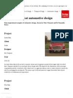 Automotive designing 4