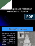1.3 Radiación primaria y secundaria.