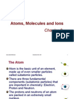 Atom, Molecules and Ions