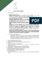 Tematica Si Cerinte Seminar Politici de Marketing 2012-2013